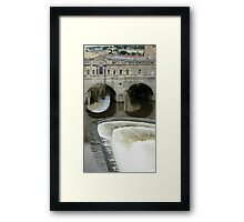 Pulteney Bridge Framed Print