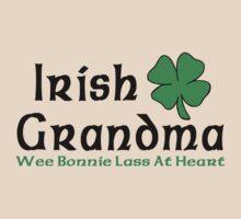 "Irish Grandma ""Wee Bonnie Lass at Heart"" by FamilyT-Shirts"