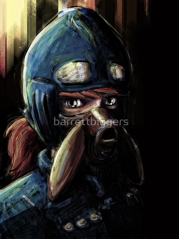 Nausicaa Valley of the Wind Anime Tra Digital Painting  by barrettbiggers