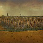 Lethbridge Train Trestle XII by Vickie Emms