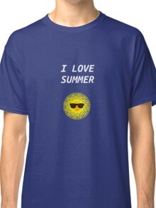 I LOVE SUMMER Classic T-Shirt