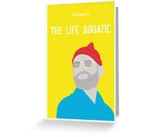 Bill Murray The Life Aquatic  Greeting Card