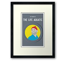 Bill Murray The Life Aquatic  Framed Print