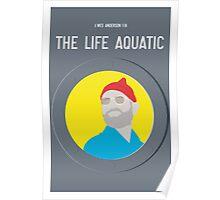 Bill Murray The Life Aquatic  Poster
