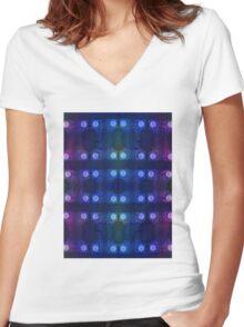 design#35 Women's Fitted V-Neck T-Shirt