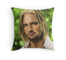 James 'Sawyer' Ford Throw Pillow