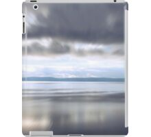 Puget Sound Cloudy Reflection with Blur iPad Case/Skin