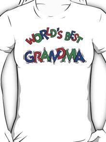 "Grandma ""World's Best Grandma"" T-Shirt"