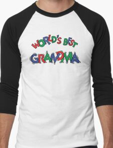 "Grandma ""World's Best Grandma"" Men's Baseball ¾ T-Shirt"
