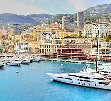 Sailing into Monte Carlo by Steve