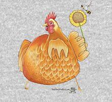Sunflower Hen Hoodie