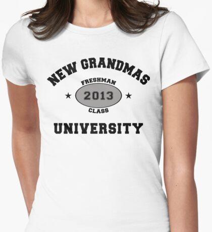 New Grandma 2013 Womens Fitted T-Shirt
