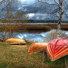 Rowing boats by ilpo laurila