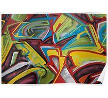 Hood Graffiti Poster