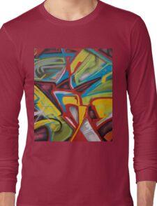 Hood Graffiti Long Sleeve T-Shirt