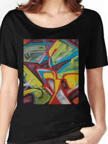 Hood Graffiti Women's Relaxed Fit T-Shirt