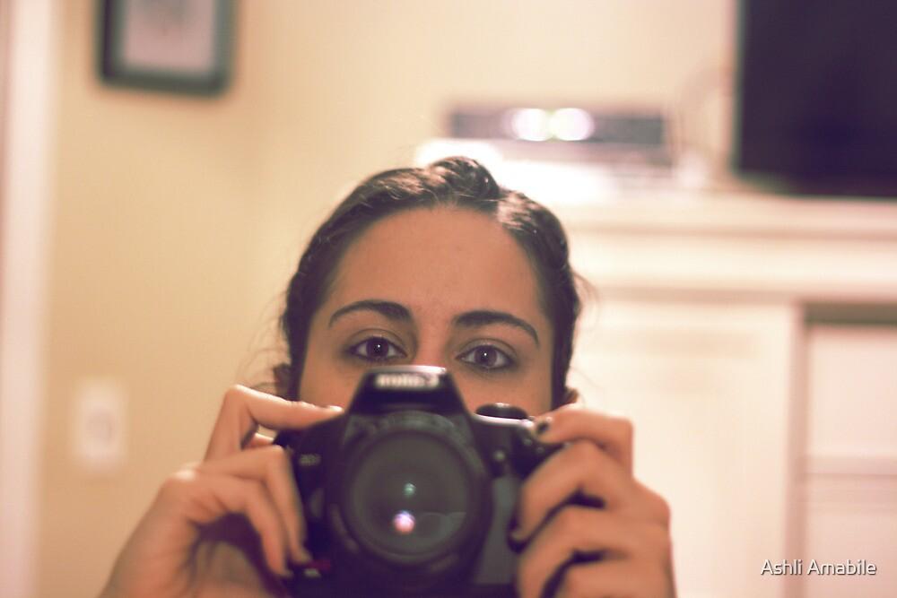 Behind the camera by Ashli Amabile