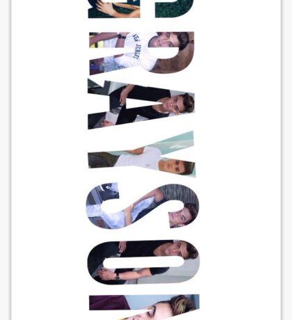 Grayson Dolan name Sticker