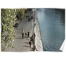 Bank of Seine Ile de la Cite 196104160143 Poster