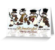 Snow Play Greeting Card