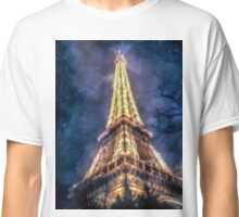 Eiffel Tower Night Classic T-Shirt