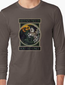 Britain Needs You At Once! WWI Poster T-Shirt