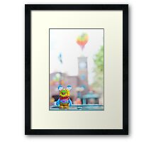 Muppet 3D Vinylmation in Hollywood Studios Framed Print