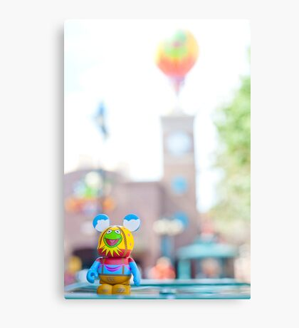 Muppet 3D Vinylmation in Hollywood Studios Canvas Print