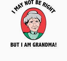 Grandma Womens Fitted T-Shirt