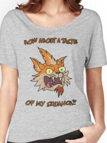 Rick and Morty – How About a Taste of My Squanch?! Women's Relaxed Fit T-Shirt