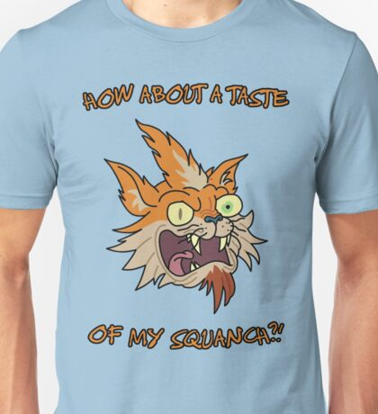 Rick and Morty – How About a Taste of My Squanch?! Unisex T-Shirt
