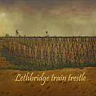 Lethbridge Train Trestle  by Vickie Emms