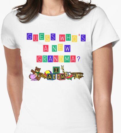 New Grandma Womens Fitted T-Shirt