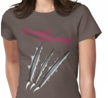 Cougar in Training Womens Fitted T-Shirt