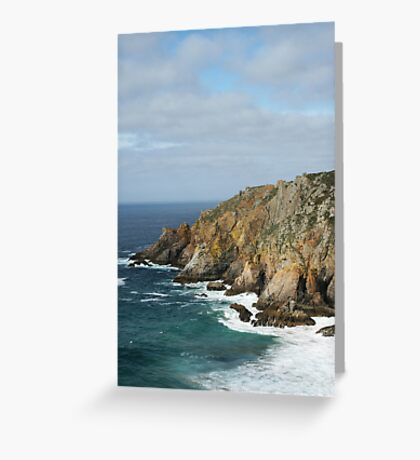 Oceanic Landscape Greeting Card