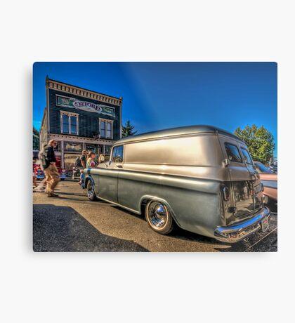 Chevy Panel Metal Print
