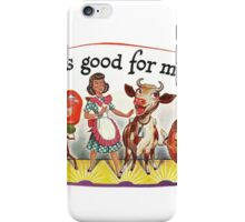DDT is good for me! iPhone Case/Skin