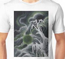 Tree in Green Moonlight Unisex T-Shirt