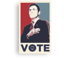Dick Roman for Office Canvas Print