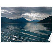 Lake Ripples Poster