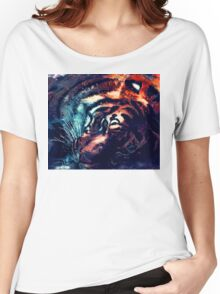 Tiger sleeping Women's Relaxed Fit T-Shirt