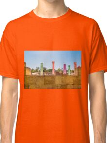 Colonnade In Beit She'an Israel Classic T-Shirt