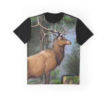 Forest Creature Graphic T-Shirt