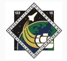 STS-122 Mission Logo by MGR Productions