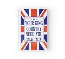 King and Country Hardcover Journal