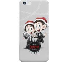 Happy Crimson Christmas iPhone Case/Skin