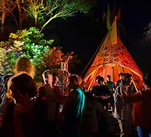 Tipi Forest by leanne0333