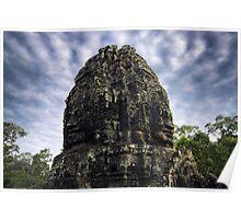 Jungle Faces, Cambodia Poster