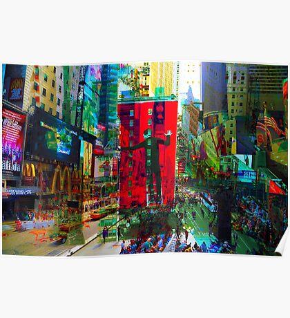New York 8 Poster