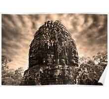 Jungle Faces, Cambodia II Poster